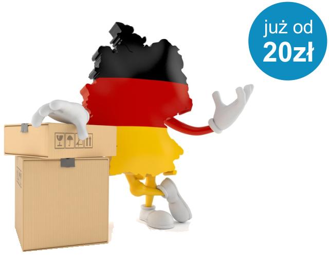 Paczki do Niemiec z magazynu e-commerce